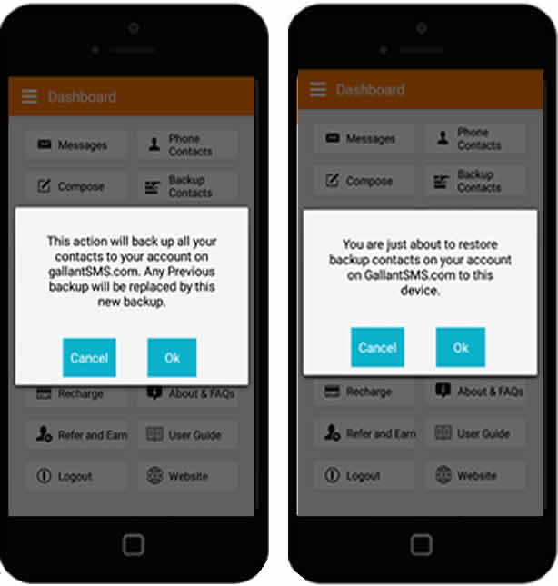Download Bulk SMS App For Android Phones - Gallant SMS